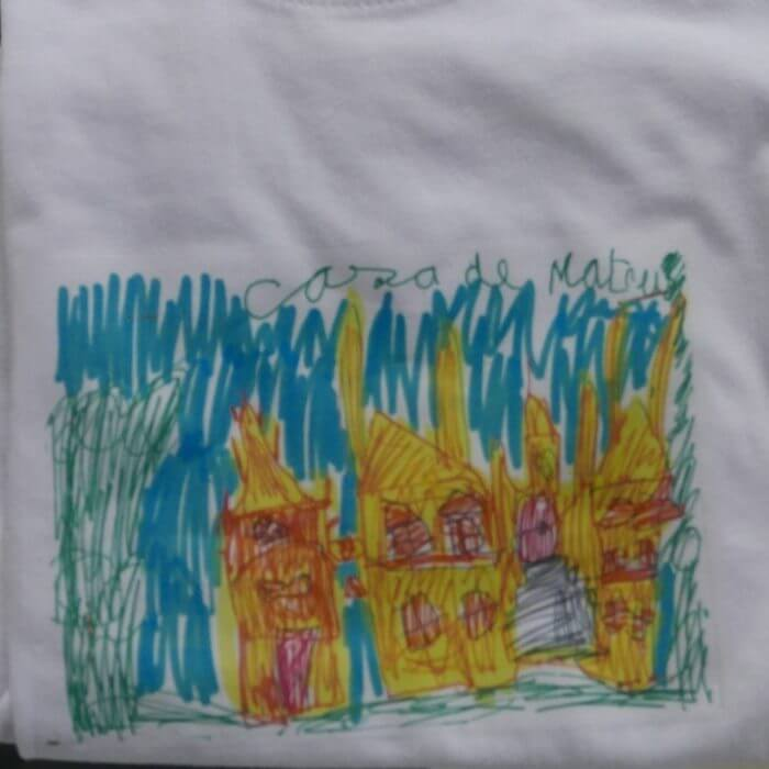 Child T-Shirt Casa de Mateus